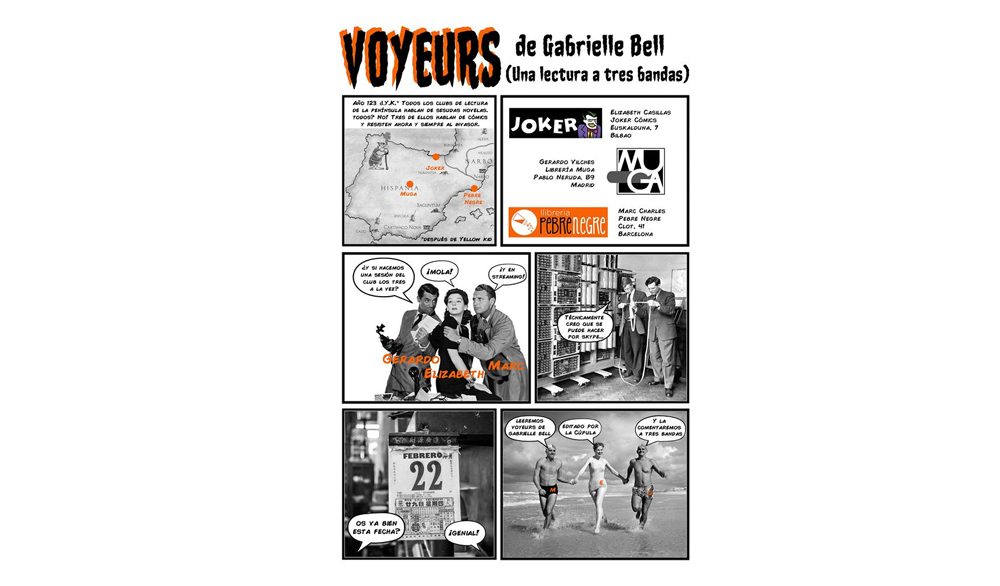 [DJ 22/2/18, 19h] Club de còmic A TRES BANDES: Voyeurs [20]