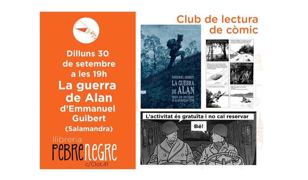 [DL 30/09/19, 19h] Club de còmic: La guerra de Alan [38]