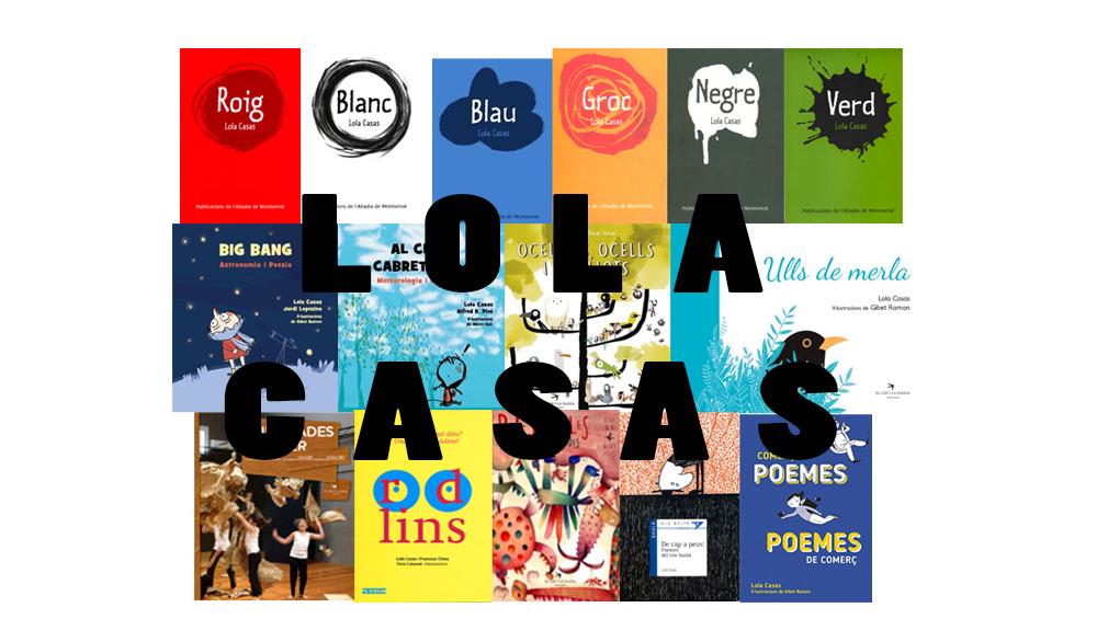 [DS 26/10/19, 12h] Un matí de poesia amb Lola Casas