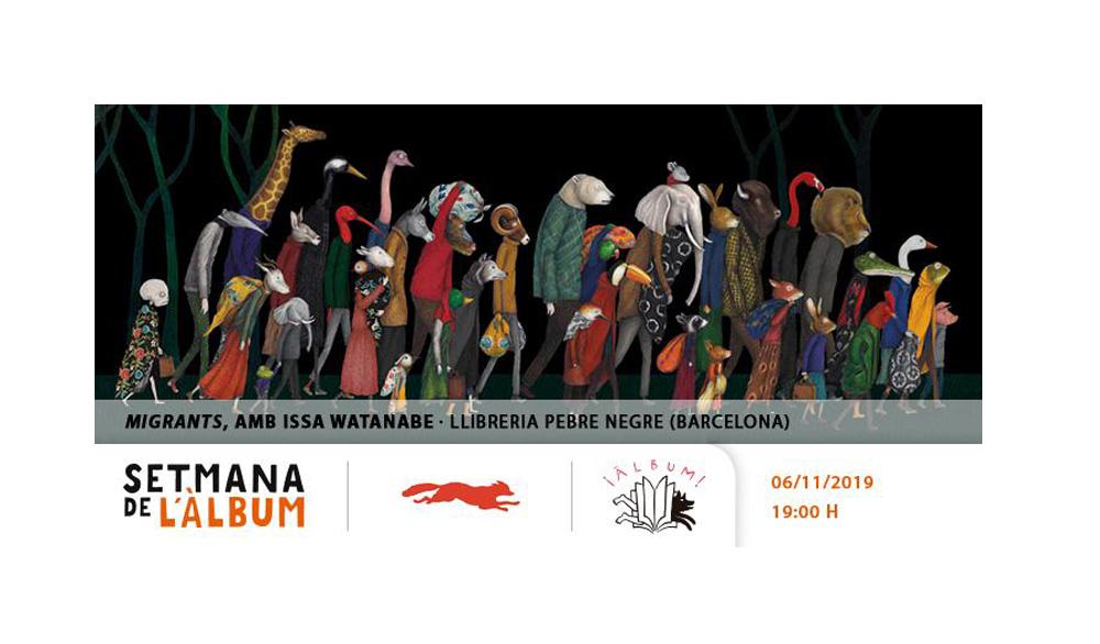 [DX 6/11/19, 19h] Presentació: Migrants, amb Issa Watanabe