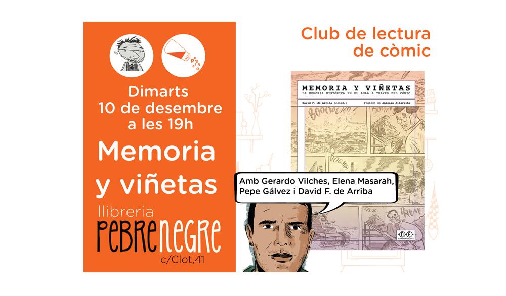 [DMa 10/12/19, 19h] Club de còmic: Memoria y viñetas [41]