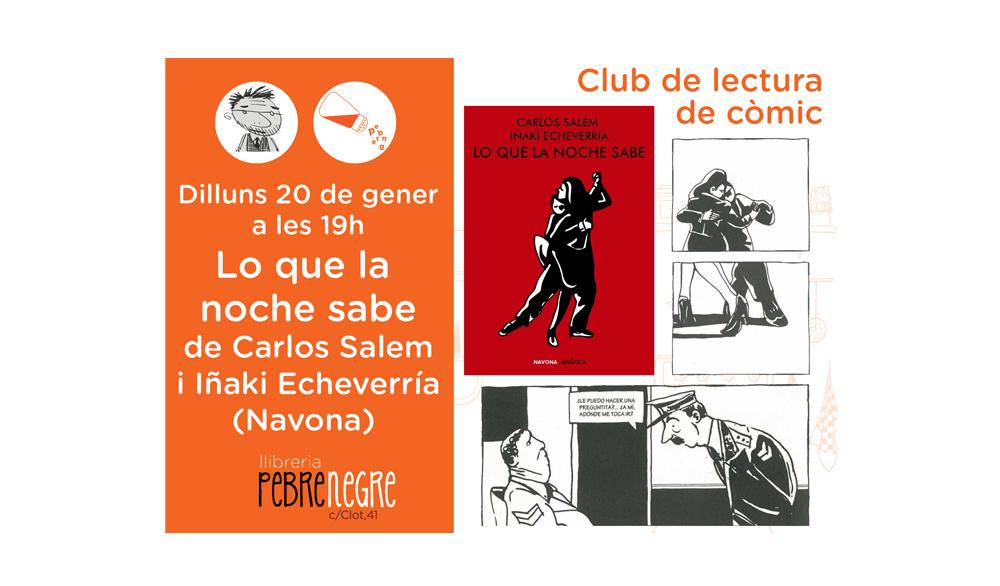 [Dl 20/01/20, 19h] Club de còmic: Lo que la noche sabe [42]