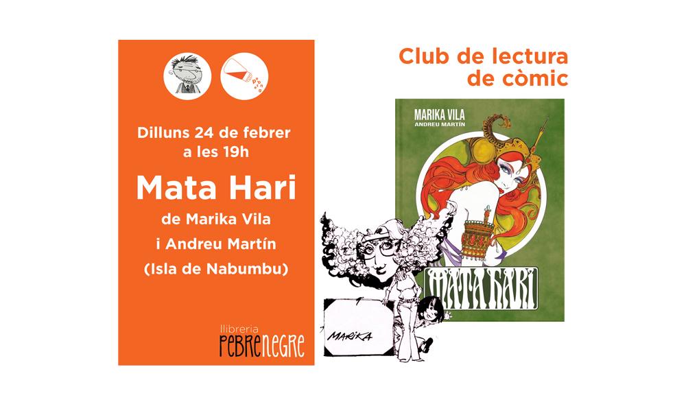 [Dl 24/02/20, 19h] Club de còmic: Mata Hari [43]