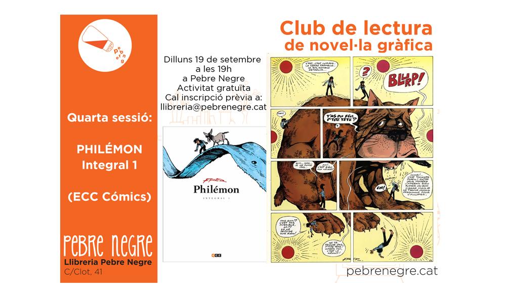 Resum de la quarta sessió del Club de lectura de còmic [setembre 2016]