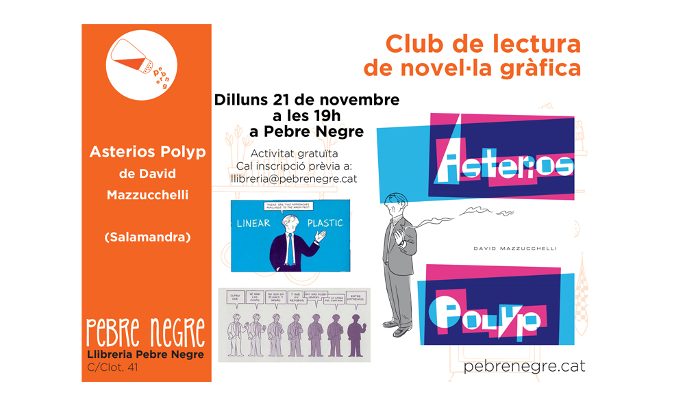 [DL 21/11/16, 19h] Club de còmic: Asterios Polyp [6]