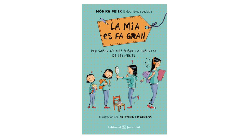 Dissabte 1 d'octubre. Taller/xerrada LA MIA ES FA GRAN, a càrrec de la pediatra Mònica Peitx