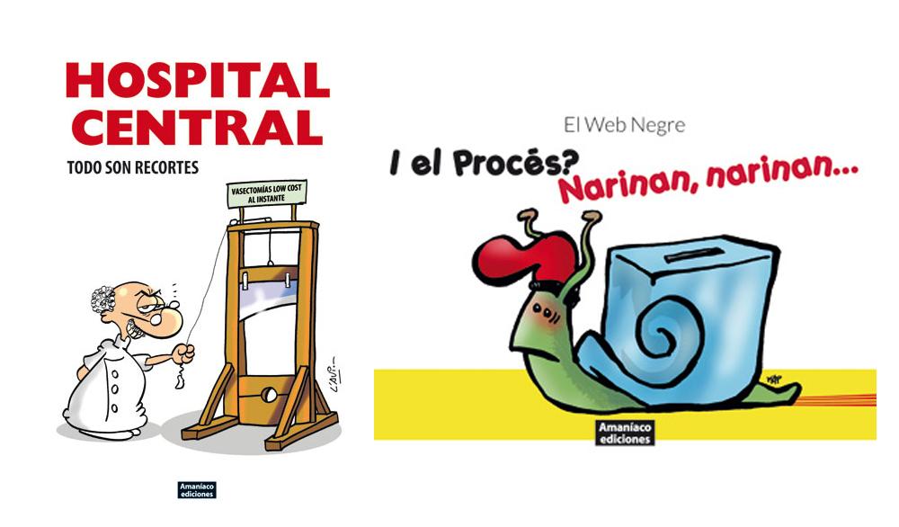[11/11, 18.30h]Dues presentacions en una: I el Procés? Narinan, narinan… i Hospital central.