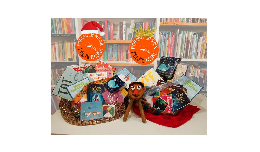 Sortegem dues paneres de llibres per Nadal!