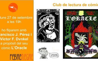 Dilluns 27 de setembre a les 19h Club de Còmic